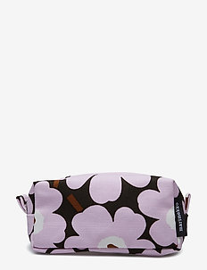 TIISE MINI UNIKKO COSMETIC BAG - GREEN,LIGHT PINK,BROWN