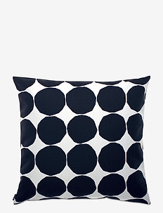 PIENET KIVET CUSHION COVER - pudebetræk - white,black