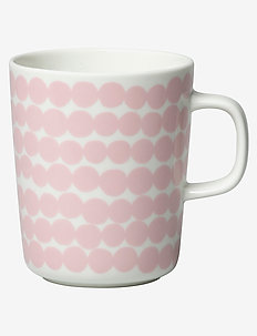 SIIRTOLAPUUTARHA MUG 2,5DL - tasses à café - white, pink