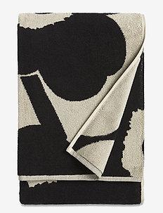 UNIKKO BATH TOWEL - håndklæder - black,sand