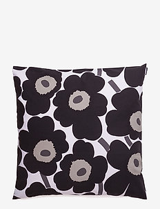 PIENI UNIKKO CUSHION COVER - WHITE, BLACK