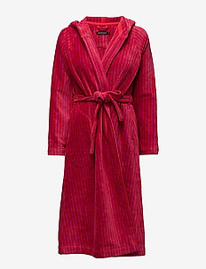 SIRO MARI BATHROBE - morgenkåper - red, pink