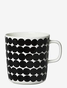 RÄSYMATTO MUG - krus & kopper - white, black
