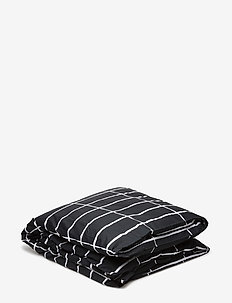 TIILISKIVI DUVET COVER - duvet covers - black, white
