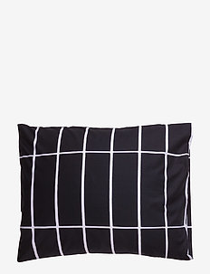 TIILISKIVI PILLOW CASE - pillowcases - black, white