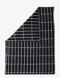 TIILISKIVI DUVET COVER - duvet covers - black, white