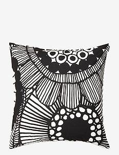 SIIRTOLAPUUTARHA CUSHION COVER - housses de coussins - white, black