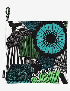 PIENI SIIRTOLAPUUTARHA POT HOLDER - mitaines de four, gants et maniques - white, green, black