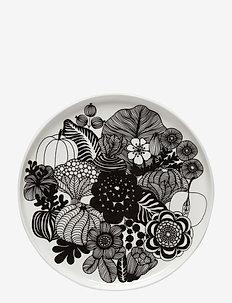 SIIRTOLAPUUTARHA PLATE - middagstallerkner - white, black