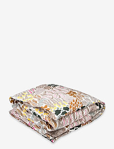 PIENI LETTO DUVET COVER - sänglakan - off-white, brown, green