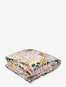 PIENI LETTO DUVET COVER - dynebetræk - off-white, brown, green