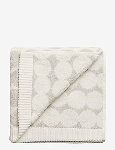 RÄSYMATTO HAND TOWEL - håndklæder - white, light grey