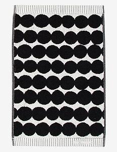 RÄSYMATTO GUEST TOWEL - hand towels & bath towels - white, black