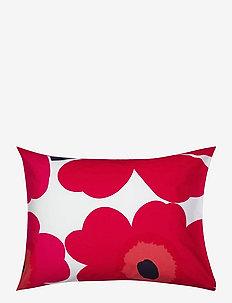 UNIKKO PILLOW CASE - pillowcases - white, red