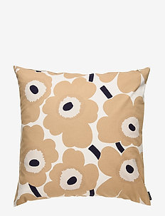 PIENI UNIKKO CUSHION COVER - housses de coussins - off-white, beige, dark blue