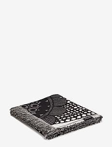 SIIRTOLAPUUTARHA BLANKET - tæpper - ecru, black