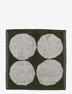 KIVET MINI TOWEL - ECRU, GREEN