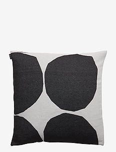 KIVET CUSHION COVER - housses de coussins - off white, black