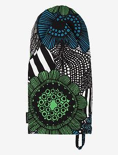 PIENI SIIRTOLAPUUTARHA OVENMITTEN - mitaines de four, gants et maniques - white, green, black
