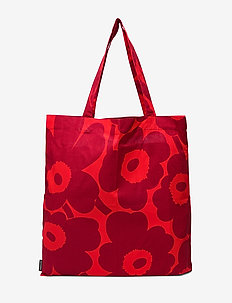 Pieni Unikko bag - RED, DARK RED