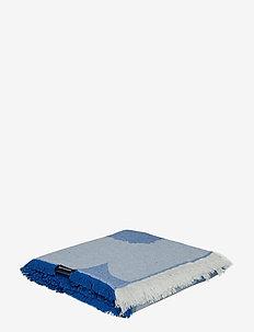 UNIKKO BLANKET - BLUE, OFF-WHITE