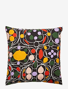 Talvipalatsi cushion cover - BLACK, YELLOW, GREEN, PURPLE