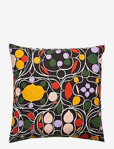 Talvipalatsi cushion cover - BLACK, YELLOW, GREEN, PURPLE