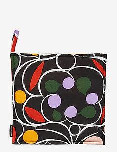 Talvipalatsi pot holder - BLACK, YELLOW, GREEN, PURPLE