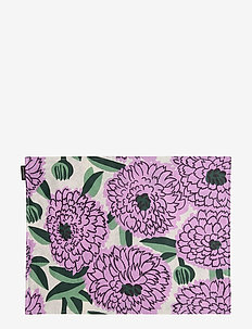 PIENI PRIMAVERA ACRYL COATED PLACEMAT - OFF-WHITE, VIOLET, GREEN