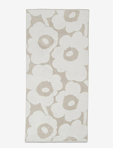 UNIKKO BATH TOWEL - hand towels & bath towels - beige, white