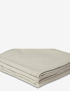 UNIKKO KNITTED BLANKET - tæpper - off-white