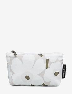 EELIA MINI UNIKKO - kulturtaschen - beige, white, greygreen