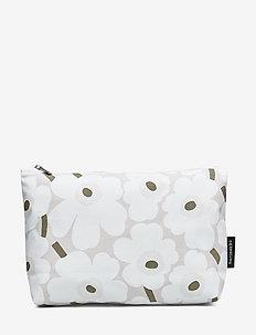 RELLE MINI UNIKKO - kulturtaschen - beige, white, greygreen