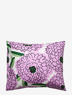 PRIMAVERA PILLOW CASE - OFF-WHITE, VIOLET, GREEN