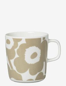 UNIKKO MUG - kaffekopper - white, beige