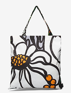 PALA TAIVASTA BAG - casual shoppers - white, orange, green