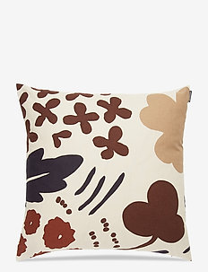 SUVI CUSHION COVER - pudebetræk - beige, brown