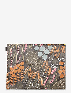 PIENI LETTO ACRYL COATED PLACEMAT - bordmatter - dark green, brown, peach