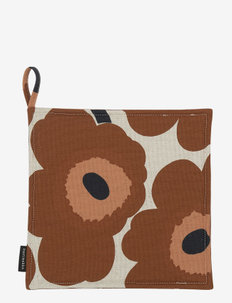 PIENI UNIKKO POT HOLDER - grydelapper - cotton, chestnut