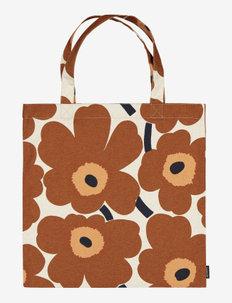 PIENI UNIKKO BAG - tote bags - cotton, chestnut