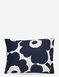 UNIKKO CO/LI DC - pillowcases - cotton, dark blue