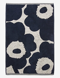 UNIKKO CO/LI HAND TOWEL - towels - cotton, dark blue