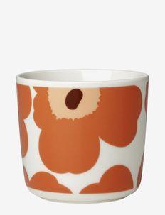 UNIKKO COFFEE CUP 2DL WITHOUT HOLDERS 2PIECES - tasses à café - white, apricot, dark brown