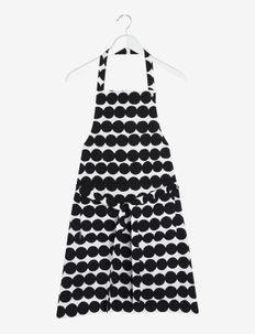 RÄSYMATTO APRON - forklæder - white, black