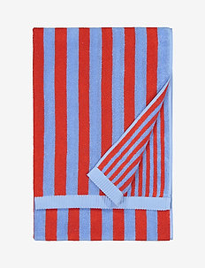 KAKSI RAITAA BATH TOWEL - hand towels & bath towels - blue, red