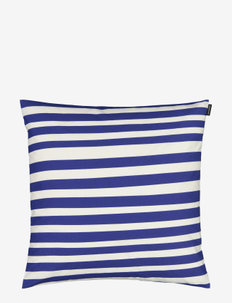 UIMARI CUSHION COVER - tyynyliinat - white, blue
