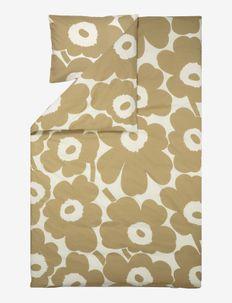 UNIKKO HEMP/COTTON DUVET COVER - housses de couette - cotton, beige