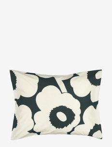 UNIKKO HEMP/COTTON PILLOW CASE - pillowcases - dark green,