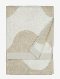 LOKKI HAND TOWEL - hand towels & bath towels - beige, white