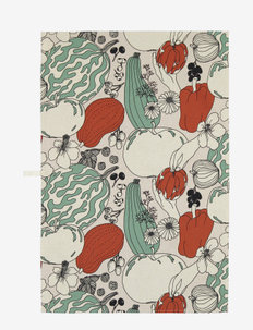 VIHANNESMAA KITCHENTOWEL - torchons - red, green